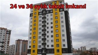 Kayseri'de 60 daire ile 5 işyeri ihale ile satılacak
