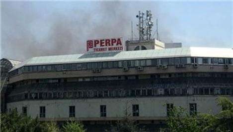 Perpa Ticaret Merkezi'nde yangın!