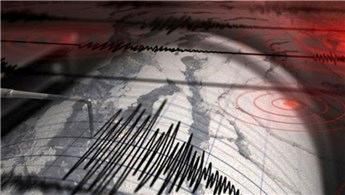 Marmaris'te 4.8 büyüklüğünde deprem