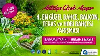 Antalya en güzel bahçe, balkon, teras ve hobi bahçesini seçecek