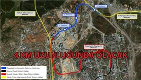 Kayaşehir Fenertepe Metro Projesi geliyor