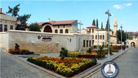 Gaziantep'te restorasyon çalışmaları devam ediyor