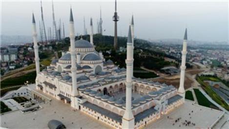 Çamlıca Camisi'nin resmi açılışı cuma günü yapılacak