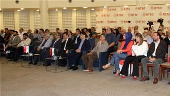 Bursa'da kentsel dönüşüm konuşuldu