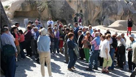 Kapadokya'da bayram tatili hareketliliği!