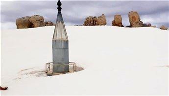 Antalya'da mayıs ayında 2,5 metrelik inanılmaz kar manzarası!