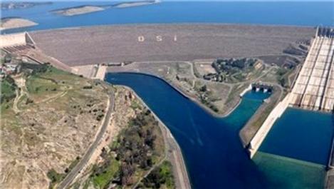 Atatürk Barajı'nda doluluk rekor seviyeye ulaştı