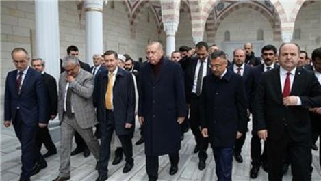 Başkan Erdoğan, Kuzey Yıldız Camisi'nin açılışını yaptı