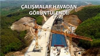 Kuzey Marmara Otoyolu'nun yüzde 71'i tamamlandı