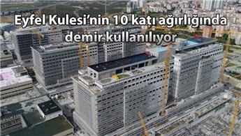 Başakşehir Şehir Hastanesi'nin yüzde 53'ü tamamlandı
