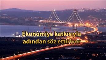Osmangazi Köprüsü, 15 ayda 2 milyar TL kazandırdı