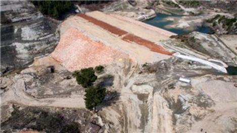Manisa'da inşa edilen Karayağcı Barajı 2020'de bitecek