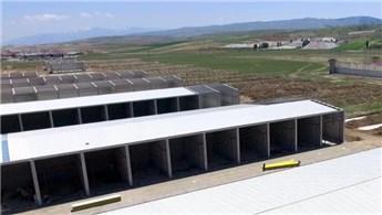 Afyonkarahisar Modern Sanayi Sitesi hızla yükseliyor
