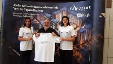 Yavuzlar İnşaat milli sporculara sponsor oldu