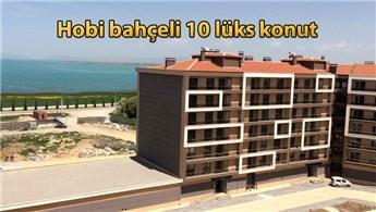 Konya'da göl manzaralı lüks konutlar ihale ile satılıyor