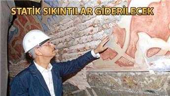 Sultanahmet Camisi'ne kapsamlı restorasyon!