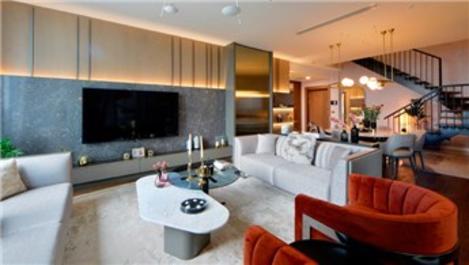 Skyland İstanbul'un örnek dairesi tamamlandı