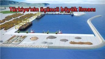 Filyos Liman Projesi'nin yüzde 80'i tamamlandı