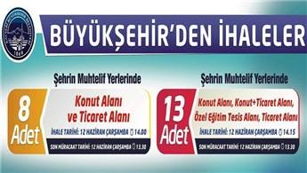 Kayseri'de 21 arsa 12 Haziran'da ihaleyle satışa çıkarılıyor