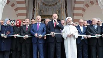 Cumhurbaşkanı, Hacı Osman Torun Camisi'nin açılışını yaptı