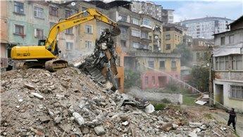 Trabzon Çömlekçi'de yıkımlar yeniden başladı