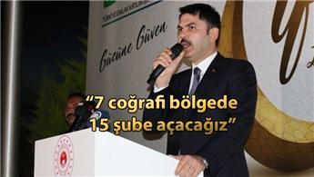 Murat Kurum, Emlak Bank'ın çalışanları ile iftar yaptı