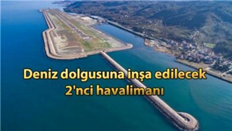 Rize-Artvin Havalimanı'nın yüzde 30'u tamamlandı