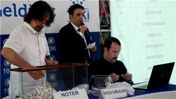 Giresun'da 300 TOKİ dairesinin sahipleri kura ile belirlendi