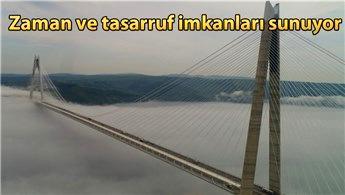 Yavuz Sultan Selim Köprüsü ulaşımda en hızlı rota!