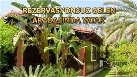 Antalya'daki bungalov evler yüzde 100 doluluğa ulaştı