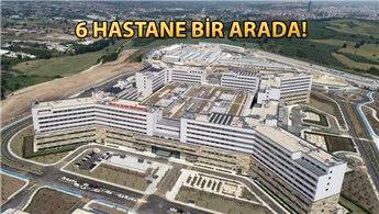 Bursa Şehir Hastanesi açılışa gün sayıyor