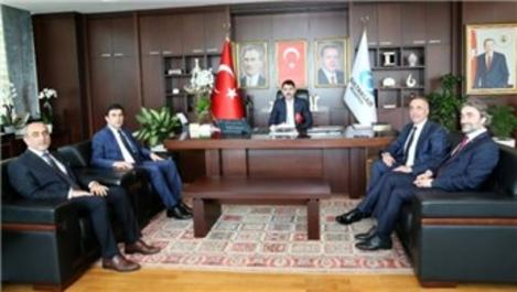 Bakan Murat Kurum, Sultangazi Belediyesi'ni ziyaret etti