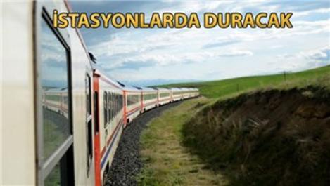 Turistik Doğu Ekspresi ilk yolculuğuna başlayacak