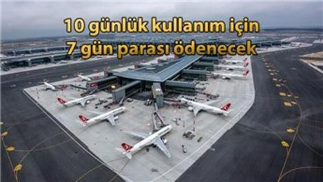 İstanbul Havalimanı'nda bayram kampanyası!