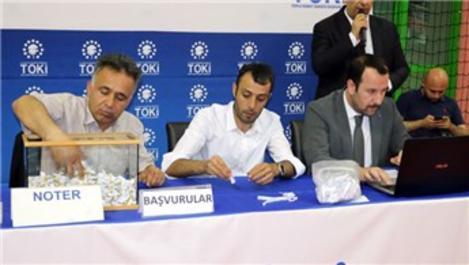 TOKİ, Yozgat'ta 708 konutun hak sahiplerini belirledi