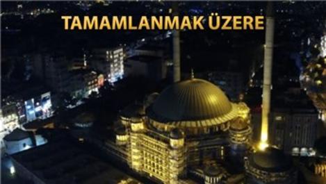 Taksim Camisi ışıklandırıldı