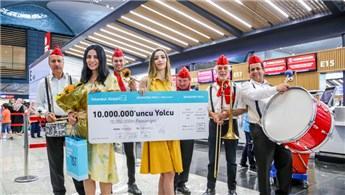 İstanbul Havalimanı 10 milyon yolcu ağırladı