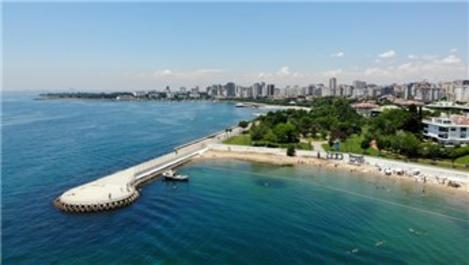 Caddebostan Plajı'na büyük ilgi!