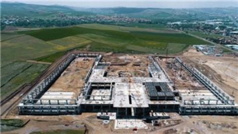 Ankara Uluslararası Fuar Alanı'nın yapım çalışmaları sürüyor