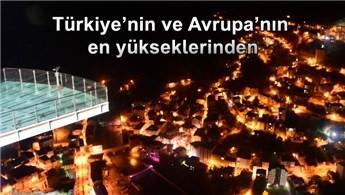 Torul Kalesi Cam Seyir Terası 220 bin kişiyi ağırladı