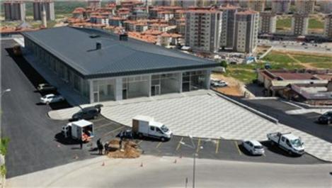 Çamlıtepe'deki ticaret merkezi tamamlandı
