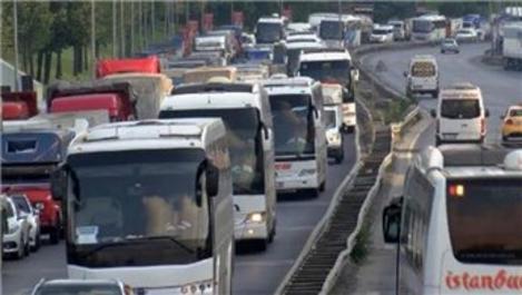 15 Temmuz Şehitler Köprüsü'nde trafik kilit