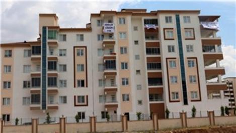 Gaziantep'te pankartlı 'ev' tepkisi!