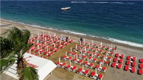 Antalya'da 'mavi bayraklı' plaj sayısı 203'e yükseldi