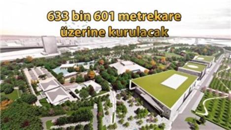 Ankara'da yapılacak Millet Bahçesi'ne ilk kazma vuruldu