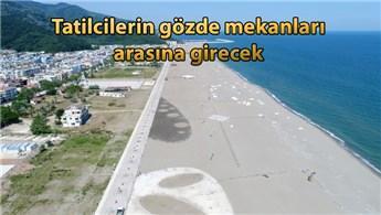 Tamamlandığında Türkiye'nin en uzun plajı olacak!