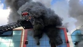 İstanbul'da İSTOÇ'ta korkutan yangın!