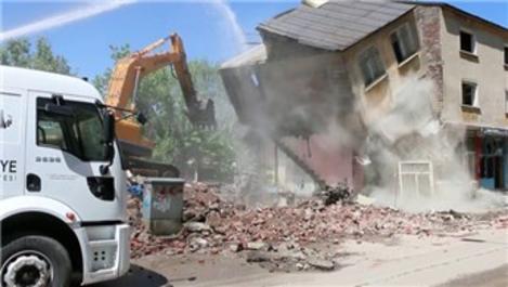 Erzurum Aziziye'de kentsel dönüşüm çalışmaları hızlandı