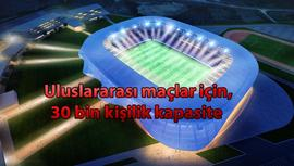 Kosova Ulusal Stadyumu'na Tabanlıoğlu imzası!