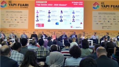 Türkiye İMSAD, 42. Yapı Fuarı'nda katılımcılarla buluştu